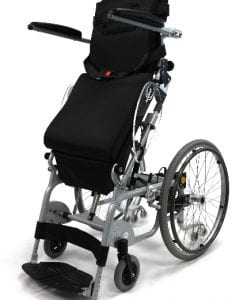 X0-202 Standing View Stand Up Wheelchair