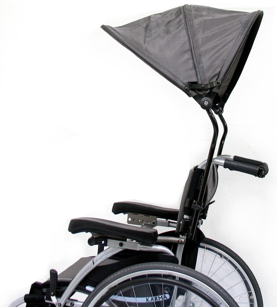 Wheelchair Luxury Canopy Side Photo