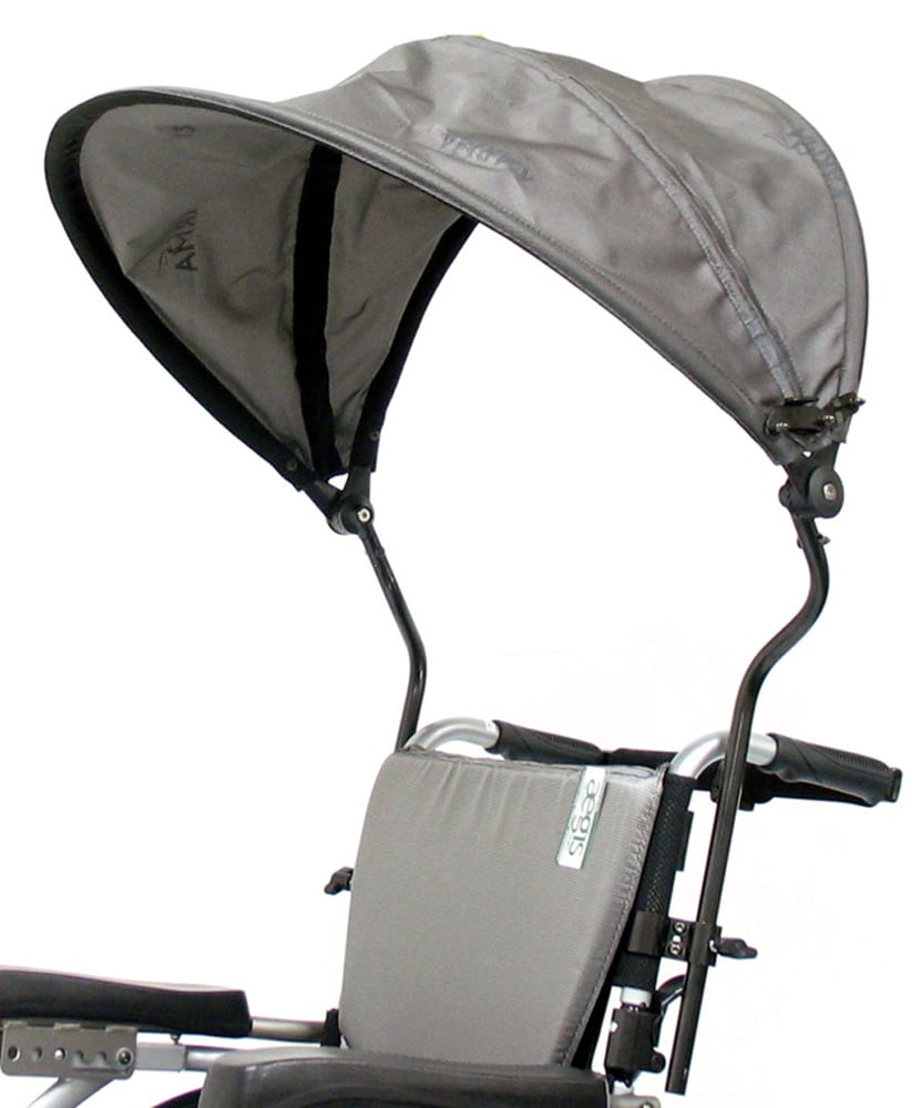 Luxury Canopy Top Wheelchair Accessory