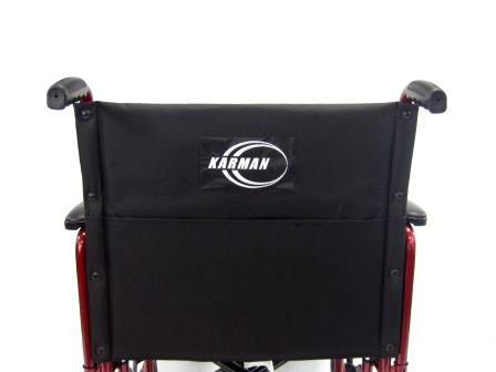T-900 Back View Transport Wheelchair
