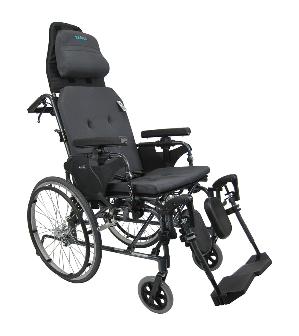 mvp502ms  sc 1 st  Karman Healthcare & MVP-502-MS - 36 lbs Manual Reclining Wheelchair w/ Headrest islam-shia.org