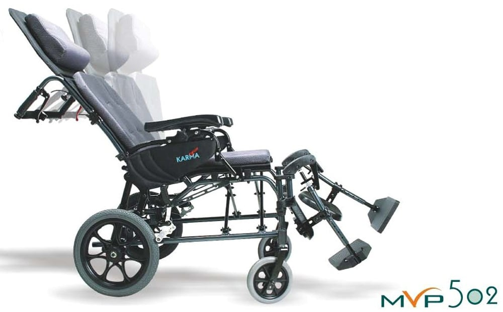 MVP Recliner Wheelchair