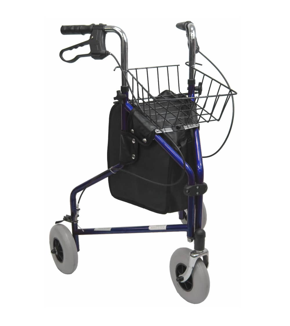 3 Wheel Walker - R-3600 3 Wheeled Rollator 8 Inch Wheels | Karman