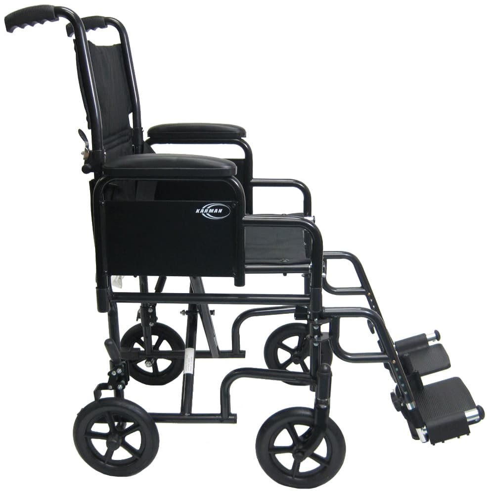 T-2700 Side View Travel Wheelchair