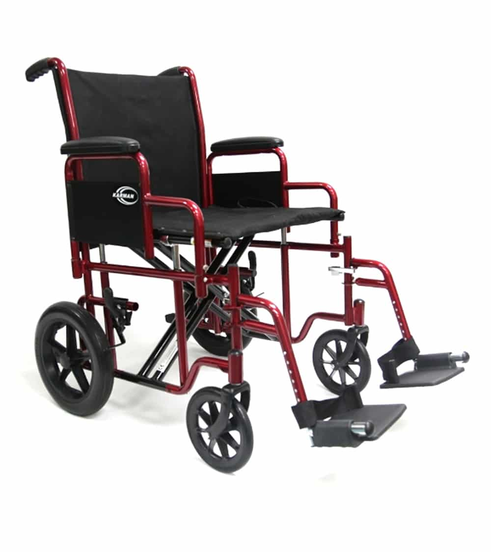 sc 1 st  Karman Healthcare & T-900 and T-922 Heavy Duty Transport Chair 22u2033 Rear Wheels | Karman