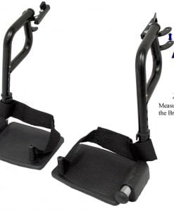 Wheelchair Footrests Sizing