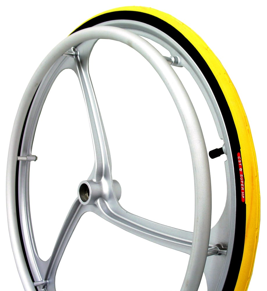 Mag Alloy Rear Wheelchair Wheel