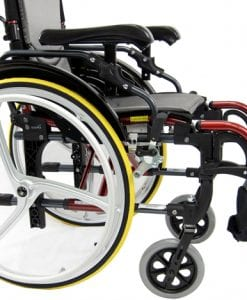 S-305 Ergonomic Wheelchair side photo