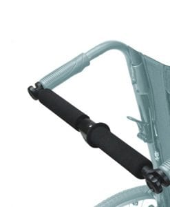 Wheelchair Pushbar Closed