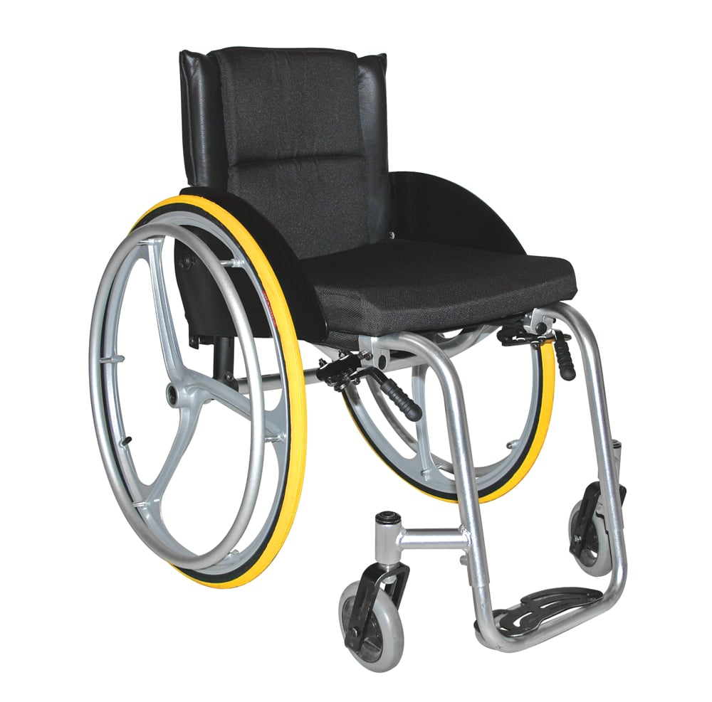 at60 active wheelchair front view