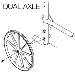 dual-axle-wheelchair