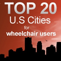 Best Cities for Wheelchair Users