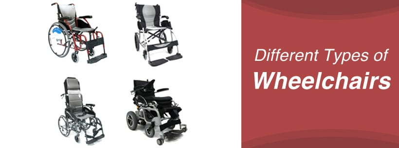 Different Types of Wheelchairs