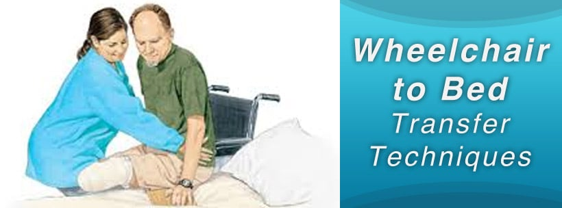 wheelchair to bed transfer
