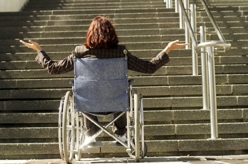 wheelchair how to climb stairs - Lift Up Stairs