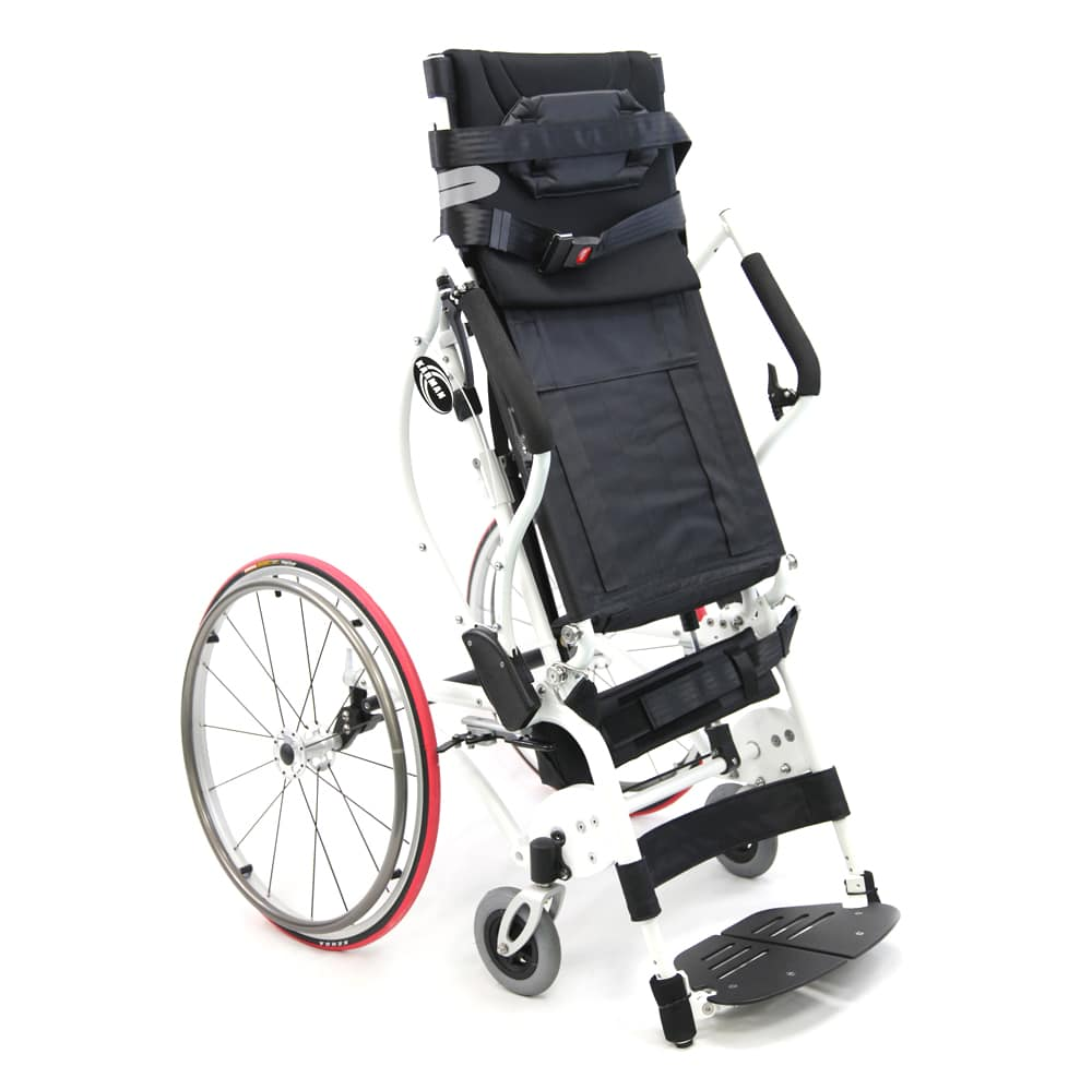 Xo 55 manual sit to stand wheelchair karman healthcare for Handicap wheelchair