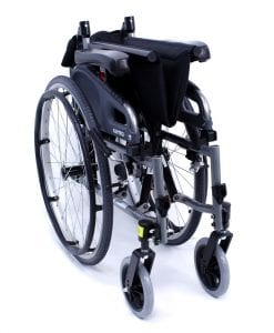 flexx adjustable wheelchair folded
