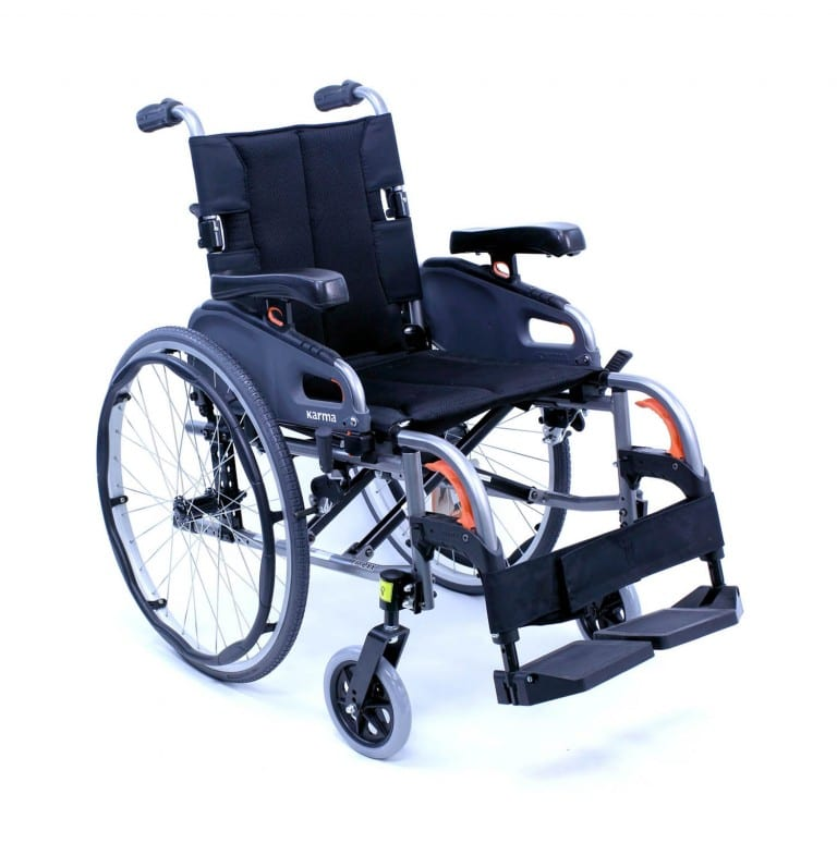 Flexx Wheelchair Ultra Lightweight Adjustable Wheelchair