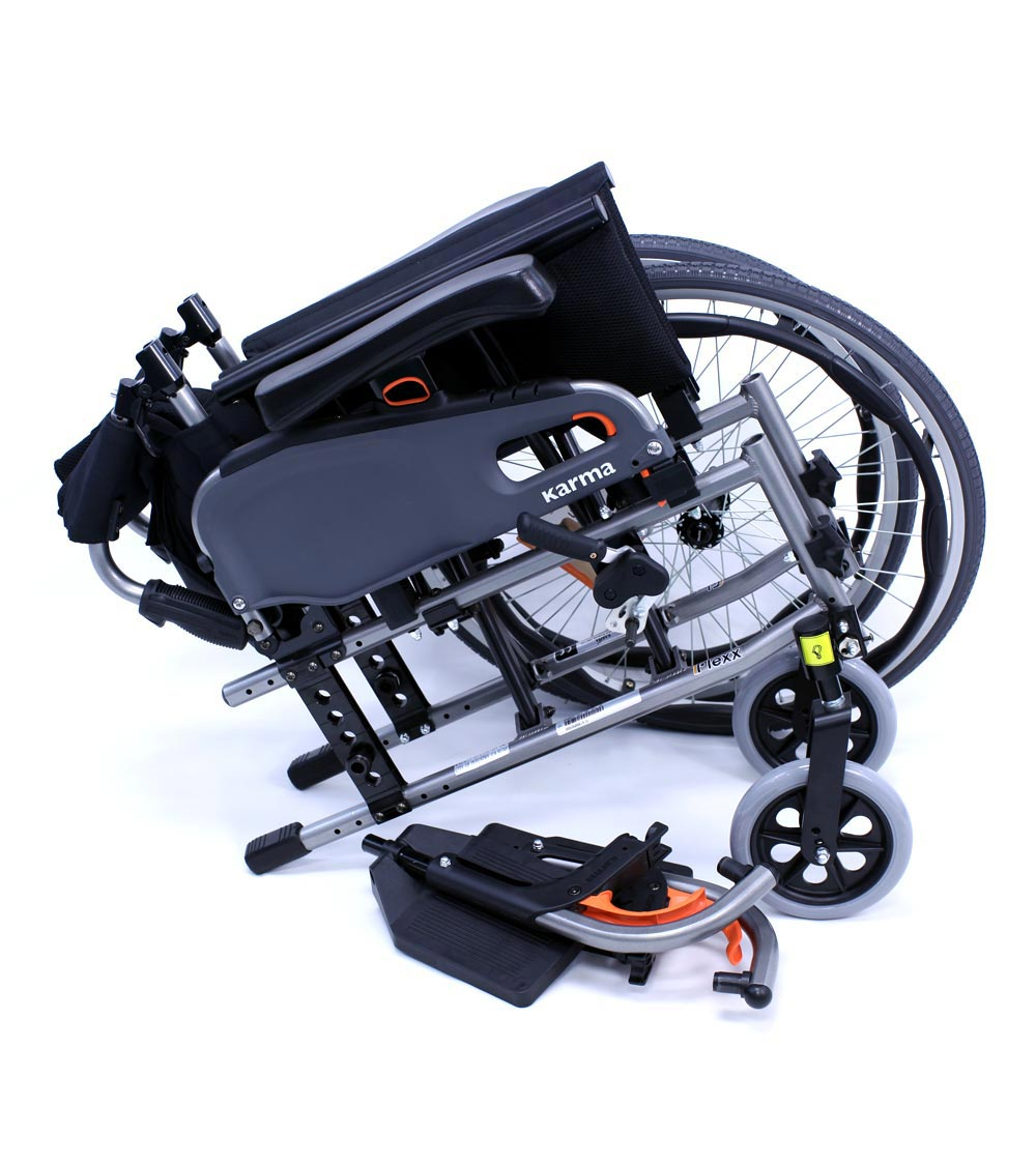 flexx wheelchair pulled apart
