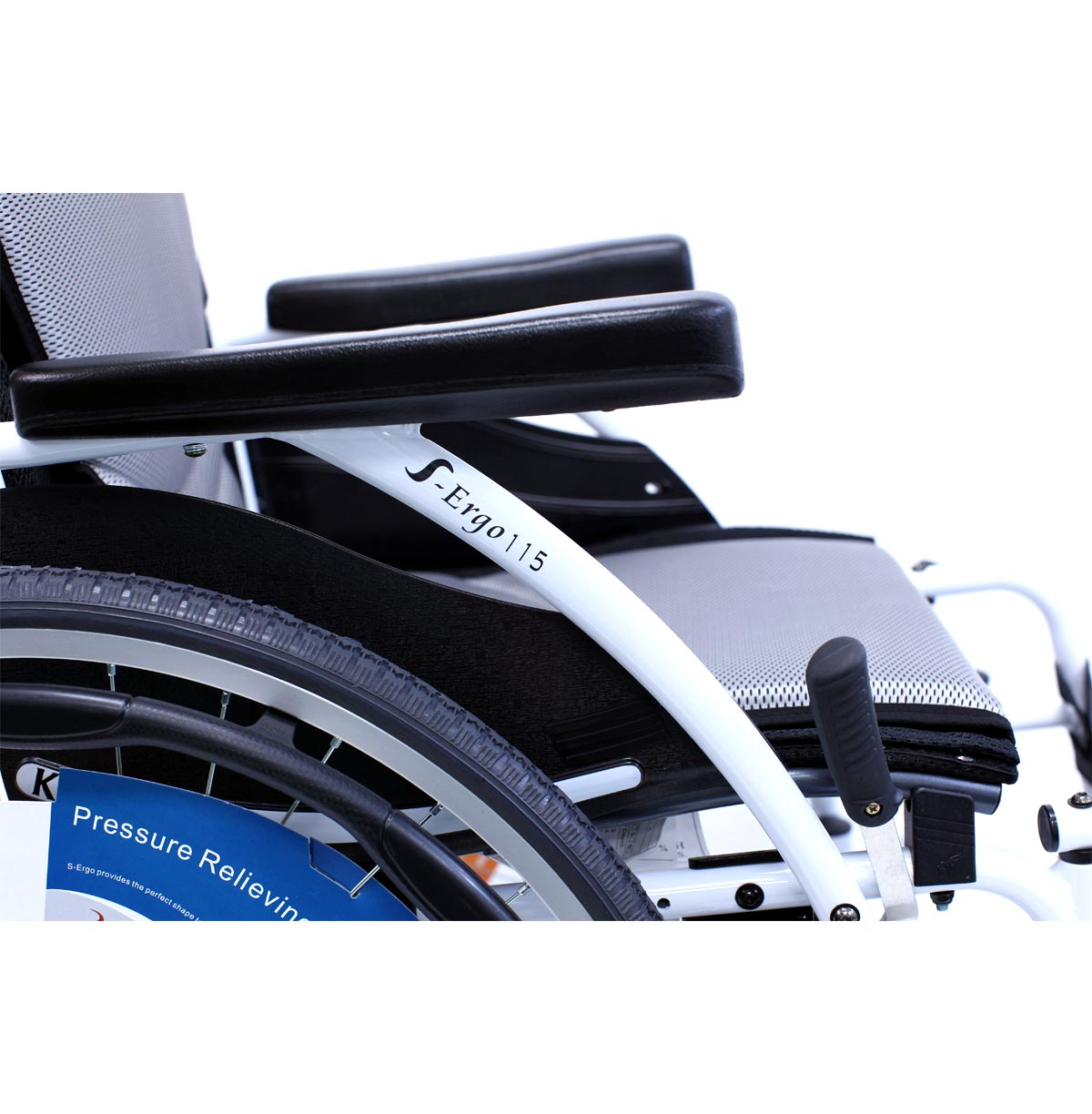 S-115 Alpine White Wheelchair