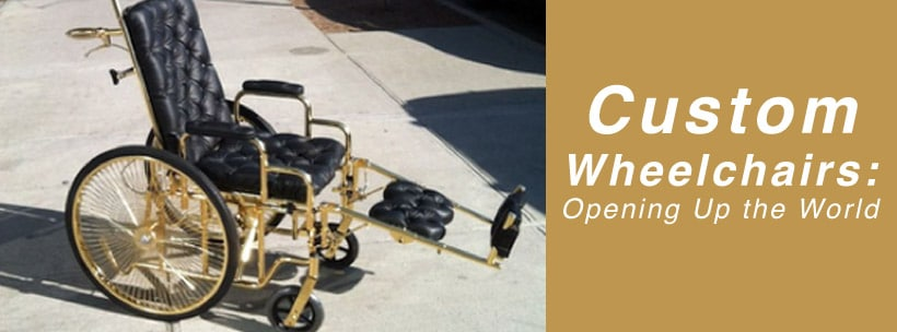 Custom Wheelchairs: Opening Up the World