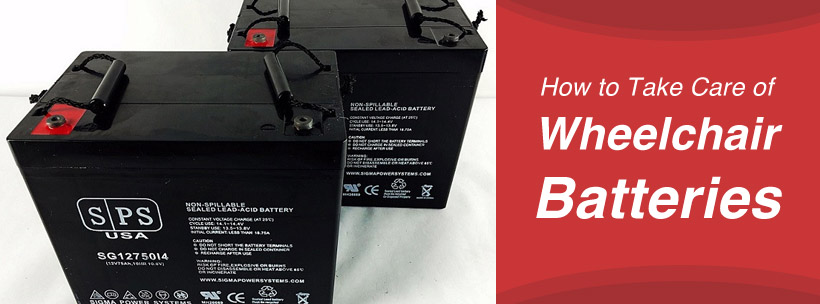 How to Take Care of Wheelchair Batteries
