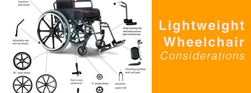 lightweight wheelchair consideration