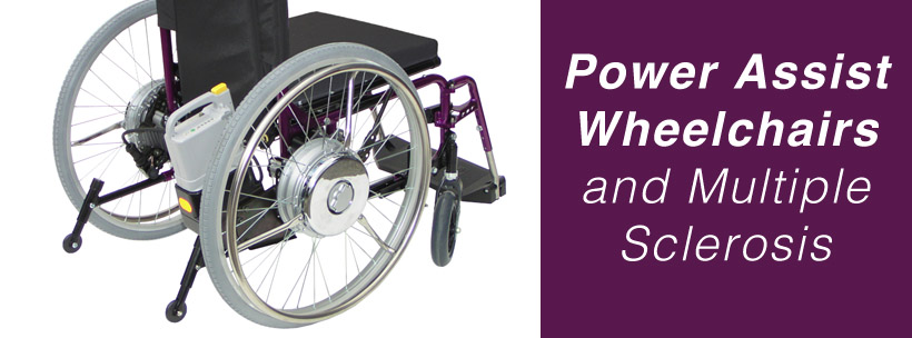 Power Assist Wheelchairs and Multiple Sclerosis