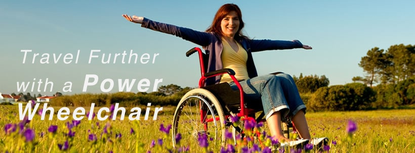 Travel Further with a Power Wheelchair
