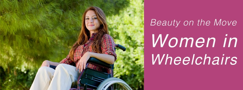 Beauty on the Move Women in Wheelchairs