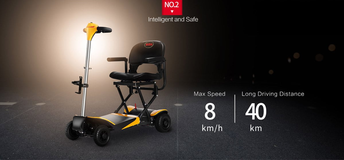 volare power scooter features