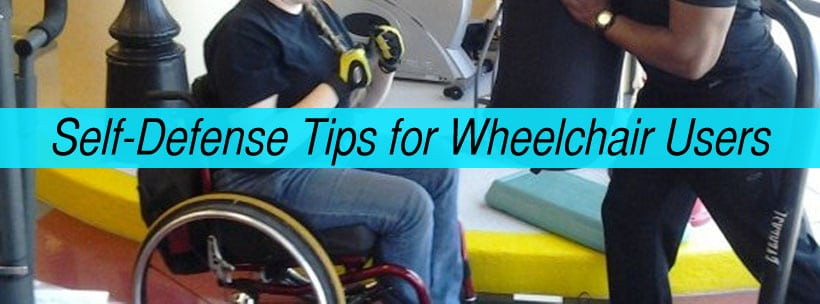 self defense tips for wheelchair users