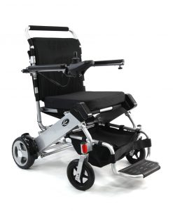 tranzit go foldable power wheelchair