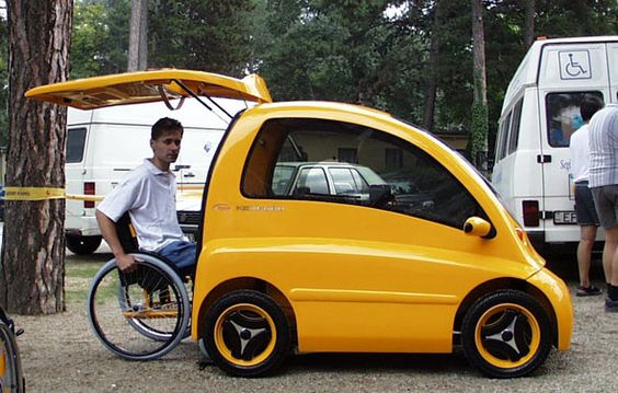 driving in a wheelchair