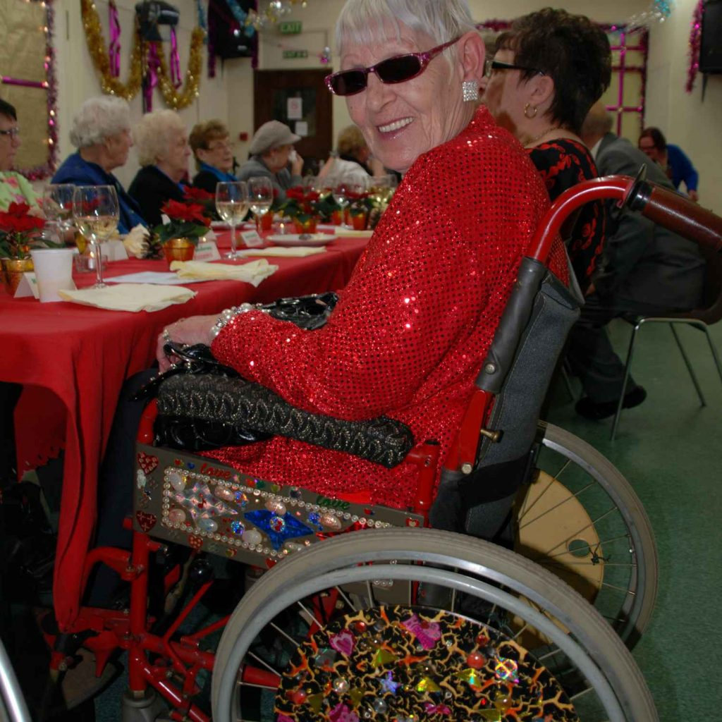 Christmas For The Wheelchair User