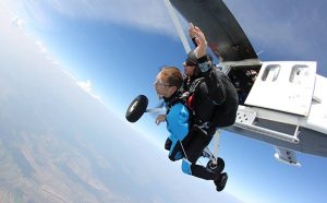 Skydiving disabled